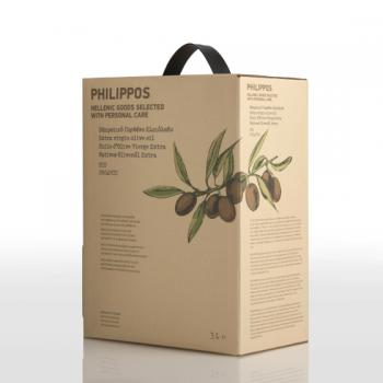 PHILIPPOS BIO Extra Virgin natives Olivenöl 3 Liter Bag in Box - DE-ÖKO-037